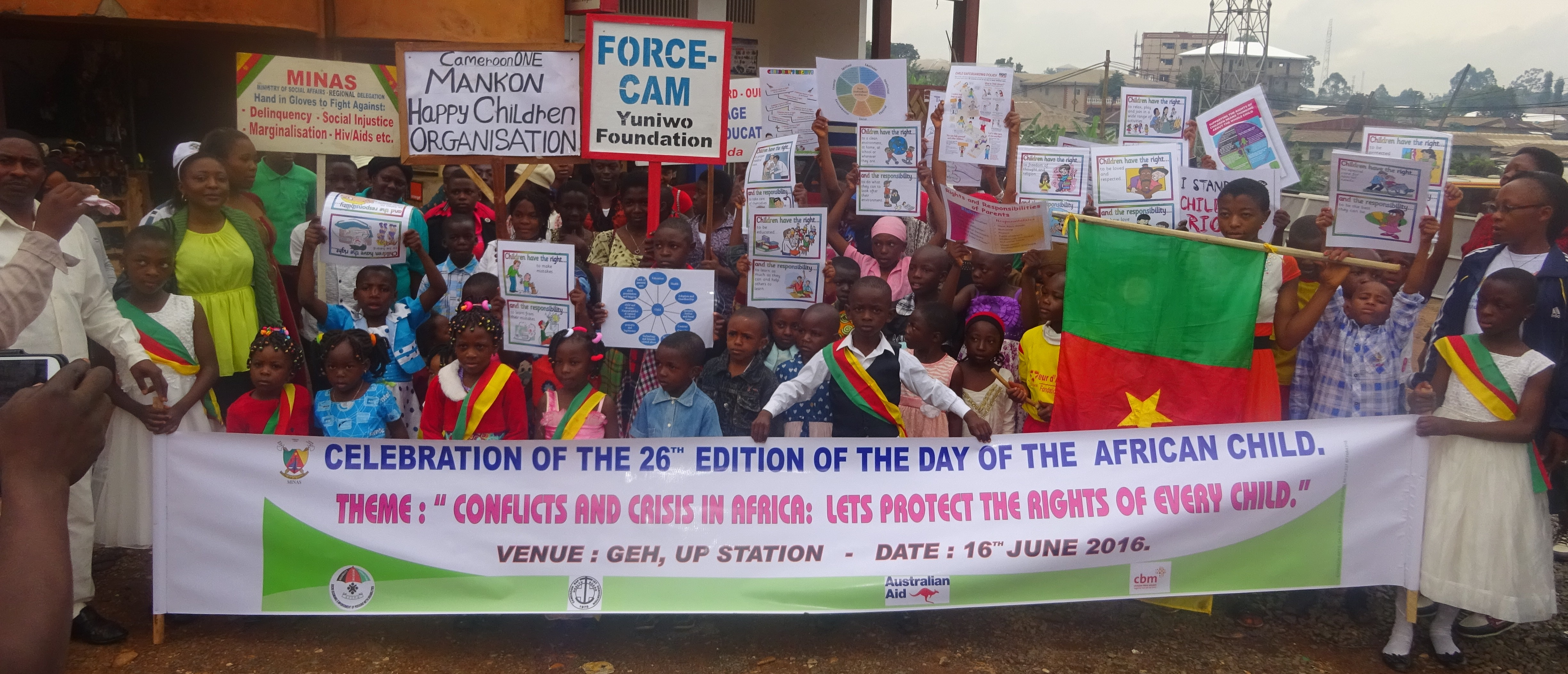 Day of the African Child Celeberated